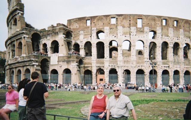 Barry, Carmel and the Coliseum